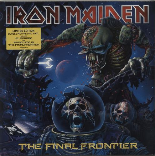 Iron Maiden The Final Frontier - Sealed - Hype Stickered picture disc LP (vinyl picture disc album) UK IROPDTH511034