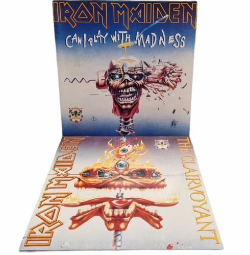 Iron Maiden The First Ten Years Box 1980-1990 - VG/EX Vinyl Box Set UK IROVXTH770360