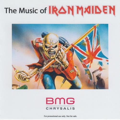 Iron Maiden The Music Of Iron Maiden 1980-2010 CD-R acetate US IROCRTH647671
