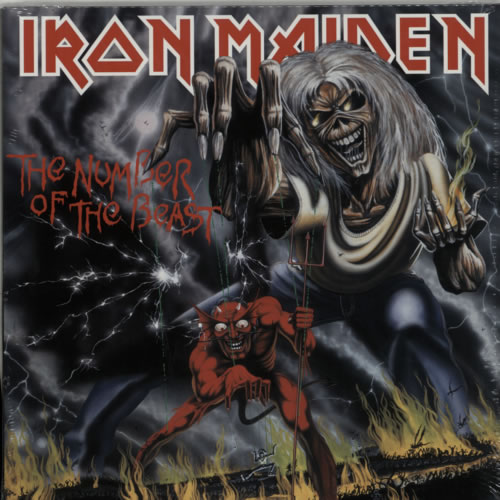 Iron Maiden The Number Of The Beast - 180gm Sealed vinyl LP album (LP record) UK IROLPTH614091