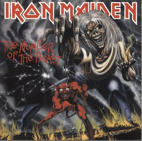 Iron Maiden The Number Of The Beast - 180gm vinyl LP album (LP record) UK IROLPTH639929