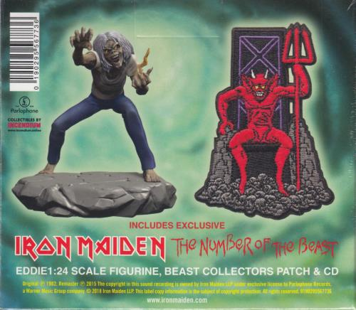Iron Maiden The Number Of The Beast - Collectors Box CD Album Box Set UK IRODXTH708390