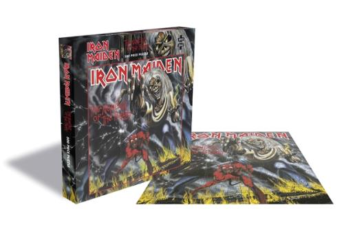 Iron Maiden The Number Of the Beast - Rock Saws 500 Jigsaw Toy UK IROTYTH746279