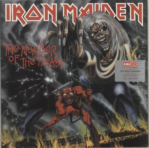 Iron Maiden The Number Of The Beast - Sealed & Hype/Promo Stickered vinyl LP album (LP record) UK IROLPTH724492