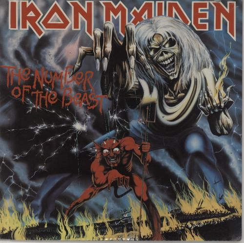 Iron Maiden The Number Of The Beast - Sealed vinyl LP album (LP record) US IROLPTH451760