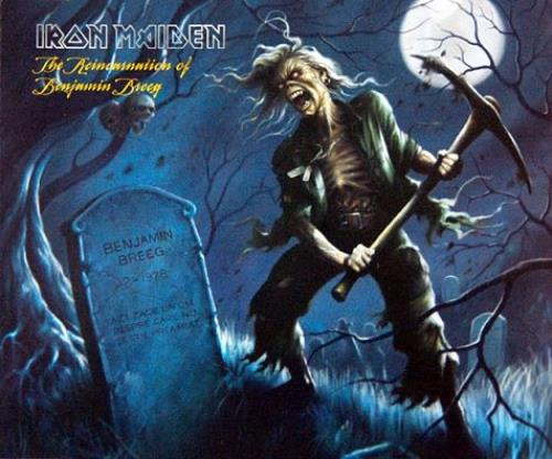 "Iron Maiden The Reincarnation Of Benjamin Breeg CD single (CD5 / 5"") UK IROC5TH368513"