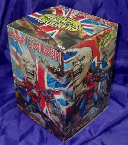 Iron Maiden The Trooper - Head Knocker Toy UK IROTYTH353393