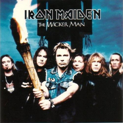"Iron Maiden The Wicker Man CD single (CD5 / 5"") UK IROC5TH231667"