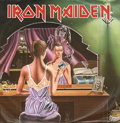 "Iron Maiden Twilight Zone 12"" vinyl single (12 inch record / Maxi-single) German IRO12TW22431"