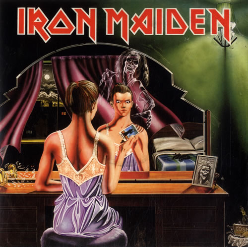 "Iron Maiden Twilight Zone 7"" vinyl single (7 inch record) UK IRO07TW614095"