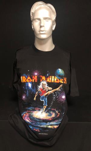 Iron Maiden Virtual XI - Footy - Large t-shirt UK IROTSVI717737