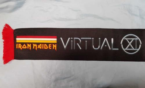 Iron Maiden Virtual XI World Tour - Scarf memorabilia UK IROMMVI713788