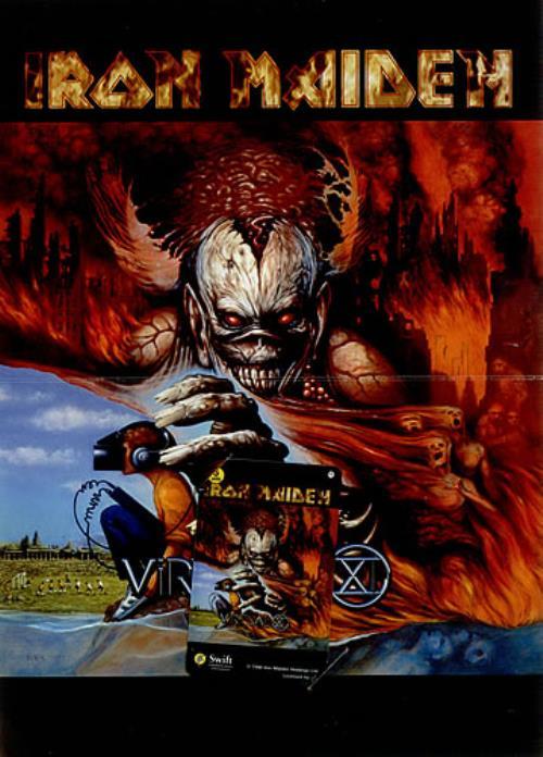 Iron Maiden Virtual XI memorabilia UK IROMMVI425317