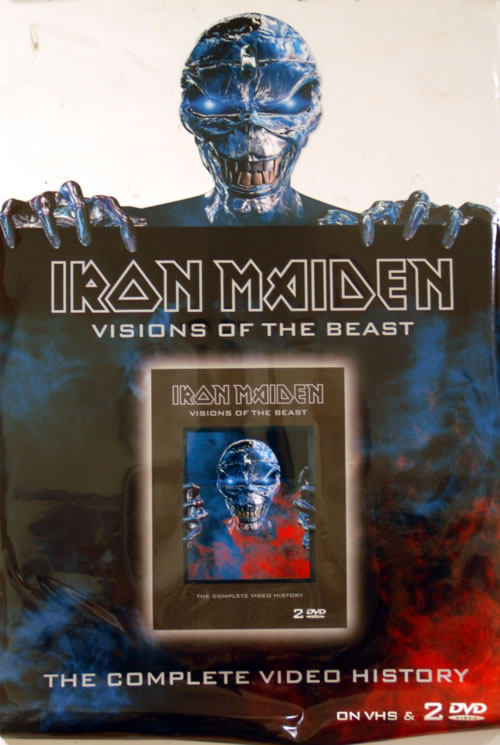 Iron Maiden Visions Of The Beast - Window sticker display UK IRODIVI256541