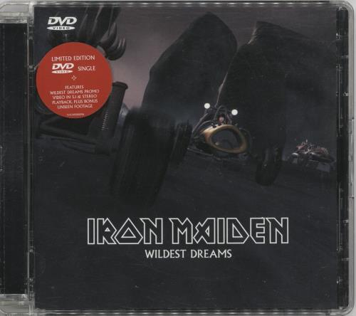 Iron Maiden Wildest Dream DVD Single UK IRODSWI352181
