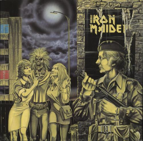 "Iron Maiden Women In Uniform - 1st + Sleeve - EX 12"" vinyl single (12 inch record / Maxi-single) UK IRO12WO257117"