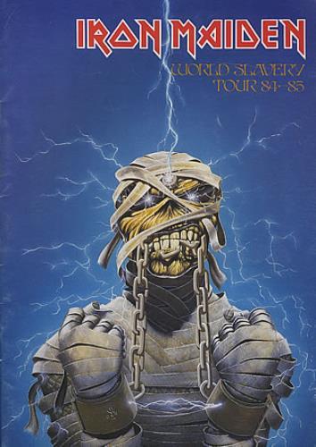 Iron Maiden World Slavery Tour 84-85 tour programme UK IROTRWO08331