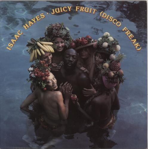 Isaac Hayes Juicy Fruit (Disco Freak) vinyl LP album (LP record) UK IHYLPJU724988