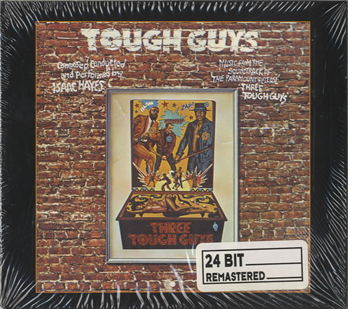 Isaac Hayes Music From The Soundtrack Three Tough Guys CD album (CDLP) German IHYCDMU583509