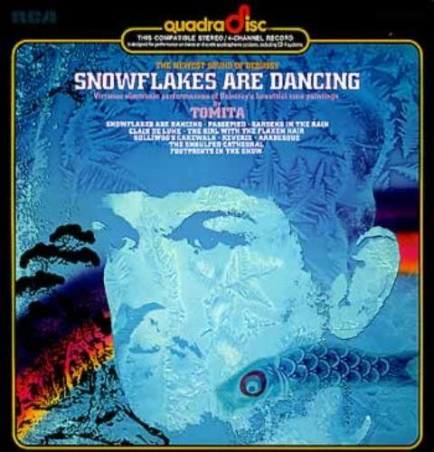 Isao Tomita Snowflakes Are Dancing Us Vinyl Lp Album Lp