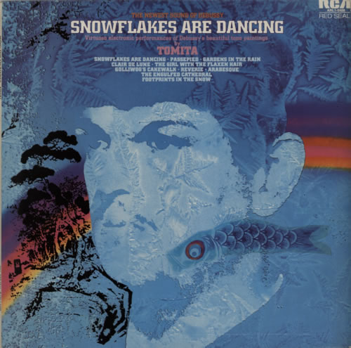 Isao Tomita Snowflakes Are Dancing vinyl LP album (LP record) UK TMTLPSN77991