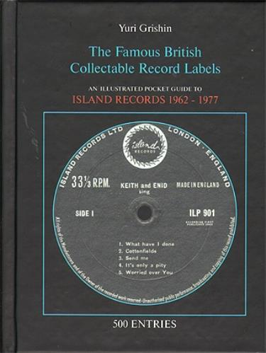 Island Records An Illustrated Pocket Guide To Island Records 1962 – 1977 book Russian ISDBKAN525270
