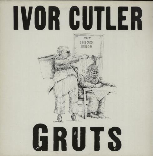 Ivor Cutler Gruts vinyl LP album (LP record) UK IVCLPGR300440