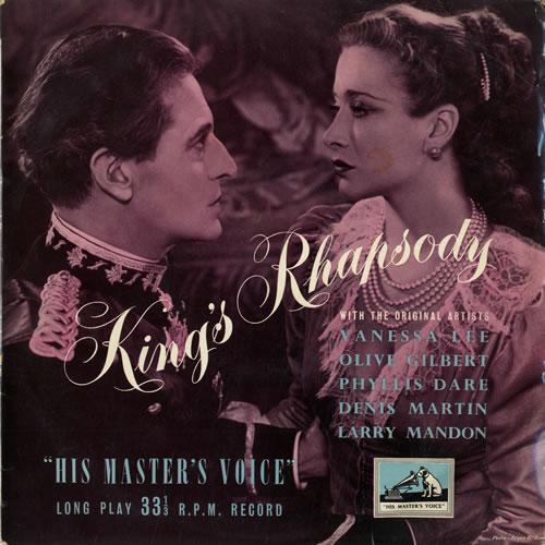 "Ivor Novello King's Rhapsody 10"" vinyl single (10"" record) UK IV010KI551759"