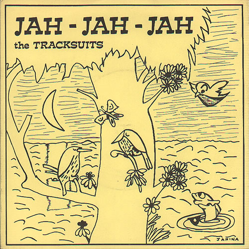"I Jog & The Tracksuits Jah-Jah-Jah 7"" vinyl single (7 inch record) UK IEQ07JA636642"