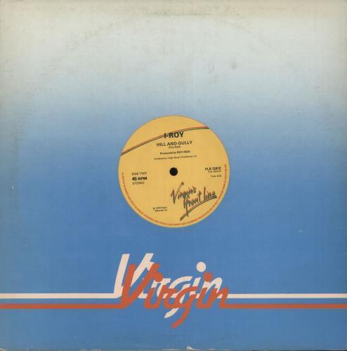 "I Roy Fire In A Wire 12"" vinyl single (12 inch record / Maxi-single) UK I.R12FI640231"