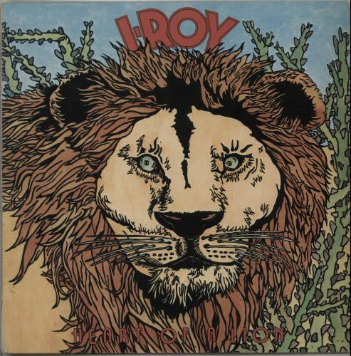 I Roy Heart Of A Lion vinyl LP album (LP record) UK I.RLPHE652152