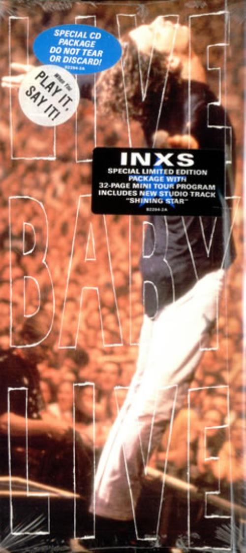Inxs Live Baby Live Special CD Pack - Sealed CD album (CDLP) US INXCDLI02455