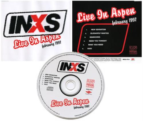 "Inxs Live In Aspen February 1997 CD single (CD5 / 5"") Australian INXC5LI313594"