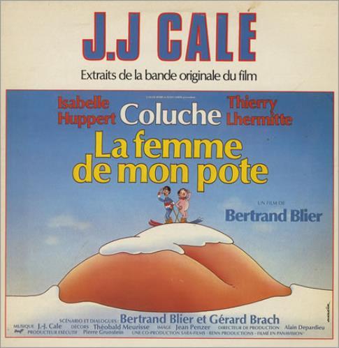 J.J. Cale La Femme De Mon Pote vinyl LP album (LP record) French JJCLPLA251947