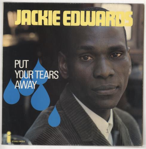 Jackie Edwards Put Your Tears Away vinyl LP album (LP record) UK JK4LPPU439091