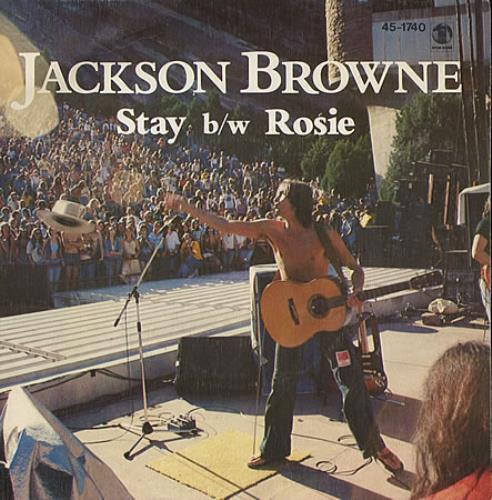 "Jackson Browne Stay 7"" vinyl single (7 inch record) Spanish JKB07ST170205"