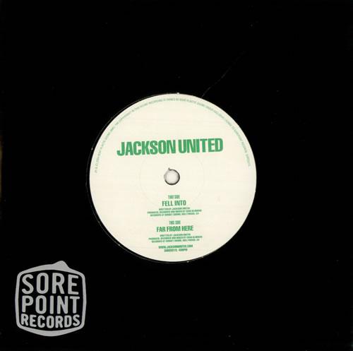 "Jackson United Fell Into 7"" vinyl single (7 inch record) UK JA107FE500618"