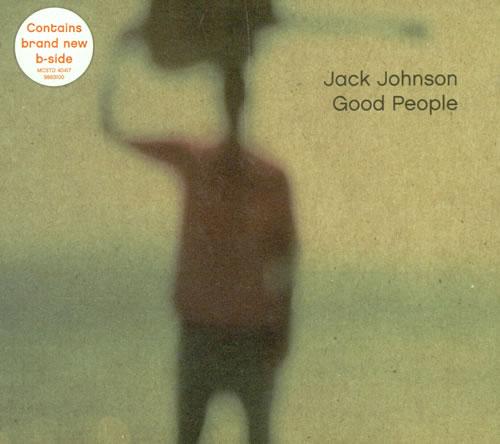 Jack Johnson Good People CD/DVD single set UK JKJSDGO500904
