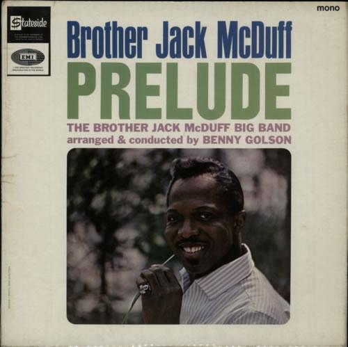 Jack McDuff Prelude vinyl LP album (LP record) UK UFJLPPR613450