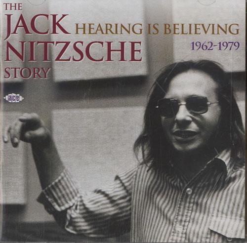 Jack Nitzsche Hearing Is Believing 2 CD album set (Double CD) UK KQC2CHE578136