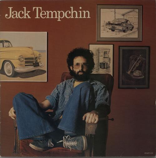 Jack Tempchin Jack Tempchin vinyl LP album (LP record) UK KXRLPJA604767