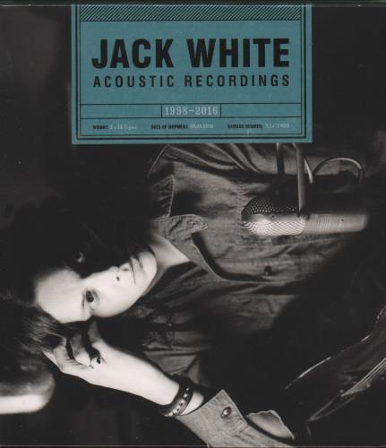 Jack White Acoustic Recordings 1998-2016 - Sealed 2 CD album set (Double CD) UK ITE2CAC661523