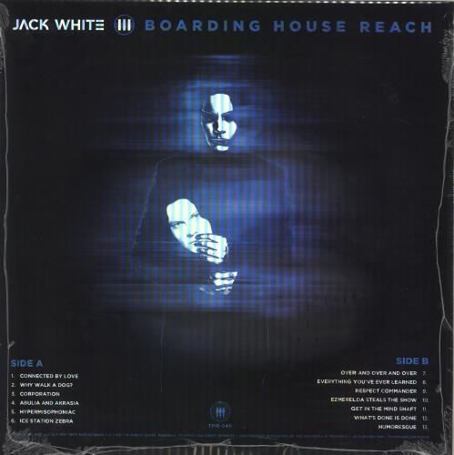Jack White Boarding House Reach - Sealed vinyl LP album (LP record) US ITELPBO715987