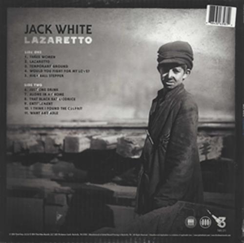 Jack White Lazaretto - Ultra Edition - Sealed vinyl LP album (LP record) US ITELPLA605762