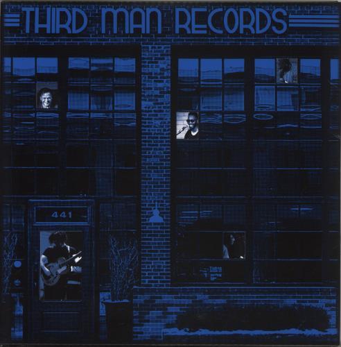 Jack White Live At Third Man Records 3-LP vinyl record set (Triple Album) US ITE3LLI717043