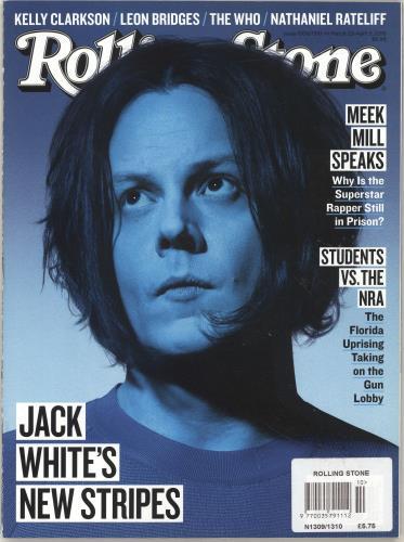 Jack White Rolling Stone - March/April 2018 magazine US ITEMARO697898