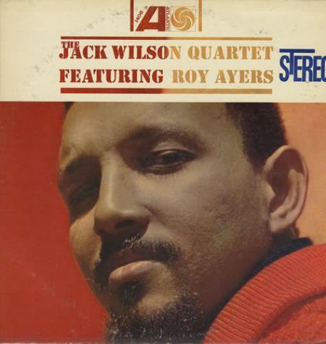 Jack Wilson The Jack Wilson Quartet Featuring Roy Ayers vinyl LP album (LP record) US JWOLPTH361963