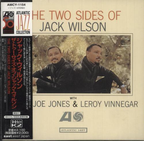 Jack Wilson The Two Sides Of Jack Wilson CD album (CDLP) Japanese JWOCDTH742299
