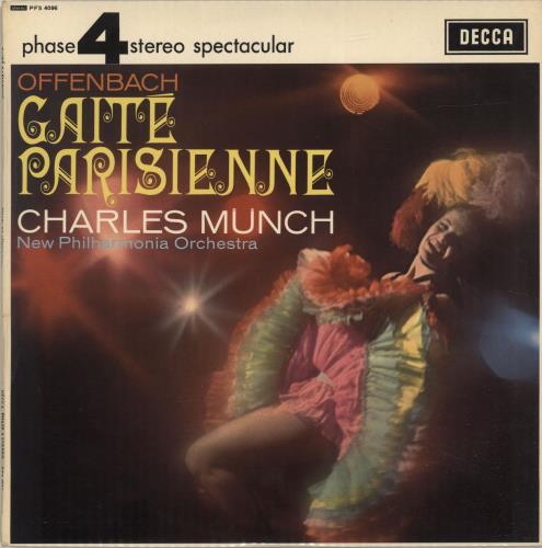 Jacques Offenbach Gaité Parisienne vinyl LP album (LP record) UK J4GLPGA693342