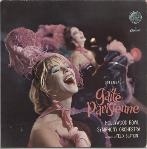 Jacques Offenbach Gaite Parisienne vinyl LP album (LP record) UK J4GLPGA720840